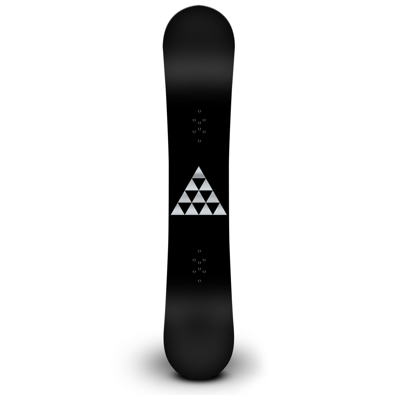 Retro Triangles Silhouette Snowboard Sticker All Weather Vinyl Decal
